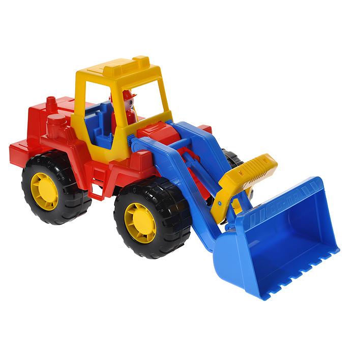 Полесье Трактор-погрузчик Техник цвет в ассортименте
