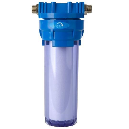 """Фильтр для воды магистральный Гейзер - 1П 3/4"""", цвет: прозрачный, для холодной воды"""