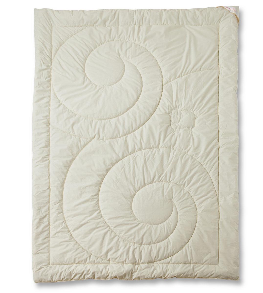 Одеяло теплое OL-Tex Меринос, цвет: сливочный, 140 х 205 смОМТ-15-4Чехол теплого одеяла OL-Tex Меринос выполнен из мягкого приятного на ощупь материала тик/перкаль сливочного цвета. Наполнитель - шерсть австралийского мериноса с полиэстером. Шерсть мериноса имеет множество достоинств. Мериносовая шерсть мягкая и эластичная, способна долгое время держать объем и форму, а благодаря естественному завитку отличается особой упругостью. Шерсть мериноса отличает высокая гигроскопичность, она способна впитывать до 33% влаги от своего объема, благодаря чему тело человека всегда остается в сухом тепле. В волокнах шерсти — миллионы воздушных подушечек, способствующих сохранению тепла и в холод, и в жару. Все эти качества шерсти мериноса служат залогом крепкого, здорового сна. Одеяло с шестью австралийского мериноса на любой сезон — уютное и теплое. Шерсть мериноса обладает целебными свойствами, благотворно воздействует на суставы. Одеяло OL-Tex Меринос - достойный выбор современной хозяйки! Рекомендации по уходу: - Стирка запрещена, - Нельзя отбеливать. При стирке не использовать средства, содержащие отбеливатели (хлор), - Не гладить. Не применять обработку паром, - Химчистка с использованием углеводорода, хлорного этилена, монофтортрихлорметана (чистка на основе перхлорэтилена), - Нельзя выжимать и сушить в стиральной машине. Характеристики: Материал чехла: тик /перкаль (100% хлопок). Наполнитель: шерсть мериноса, полиэстер. Цвет: сливочный. Плотность: 300 г/м2. Размер одеяла: 140 см х 205 см. Размеры упаковки: 55 см х 45 см х 15 см. Артикул: ОМТ-...