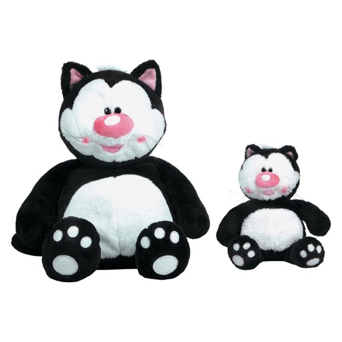 """Мягкая игрушка """"Кот Котя"""", цвет: черный, 23 см"""