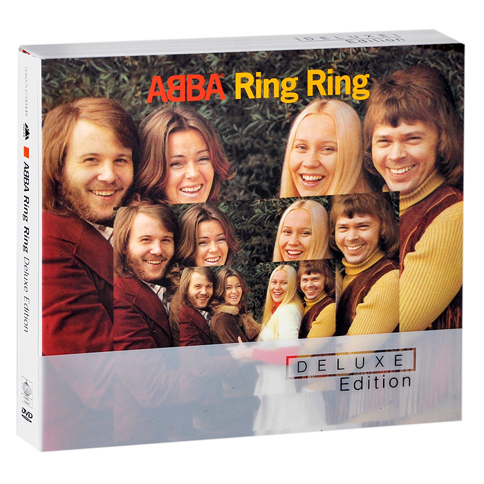 ABBA ABBA. Ring Ring. Deluxe Edition (CD + DVD) xxx 18k rose gold couple ring pure gold au750 ring tail ring wedding men and women jewelry gift for girlfriend support