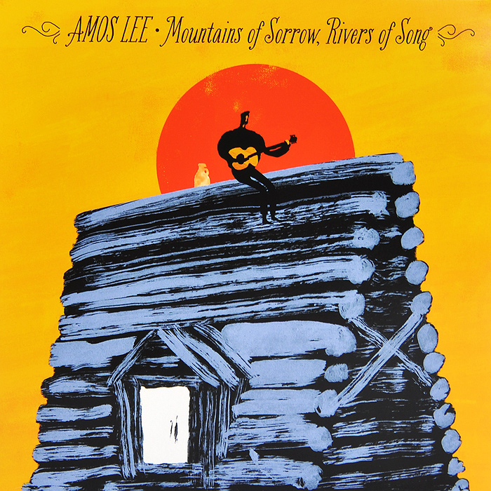 Эмос Ли Amos Lee. Mountains Of Sorrow, Rivers Of Song (LP)