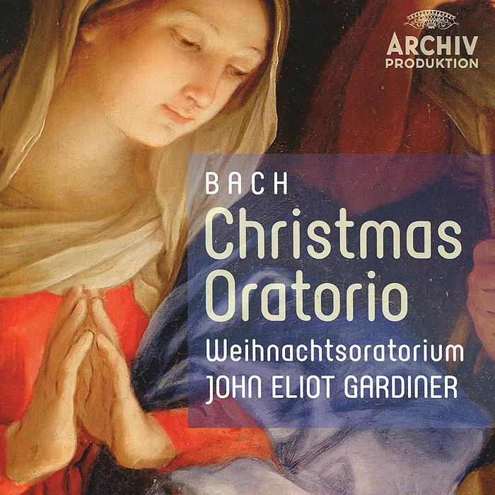 Джон Элиот Гардинер,Weihnachtsoratorium,The Monteverdi Choir,The English Baroque Soloists John Eliot Gardiner. Bach. Christmas Oratorio (2 CD) цены онлайн
