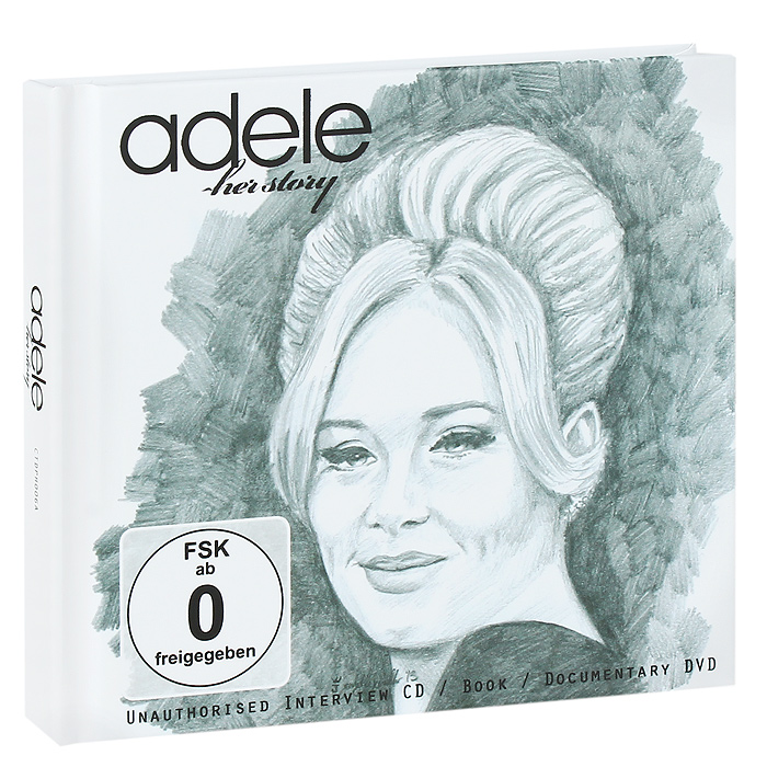 Adele Adele. Her Story (CD + DVD) 10 hd digital lcd screen car headrest monitor dvd cd player ir fm with remote controller remote mount bracket car player new