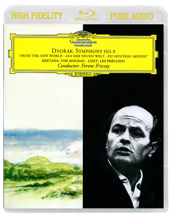 Ференц Фриксэй,Radio Symphonie Orchester Berlin,Berliner Philharmoniker Ferenc Fricsay. Dvorak. Symphony No.9 / Smetana. The Molda / Liszt. Les Preludes (Blu-Ray Audio)
