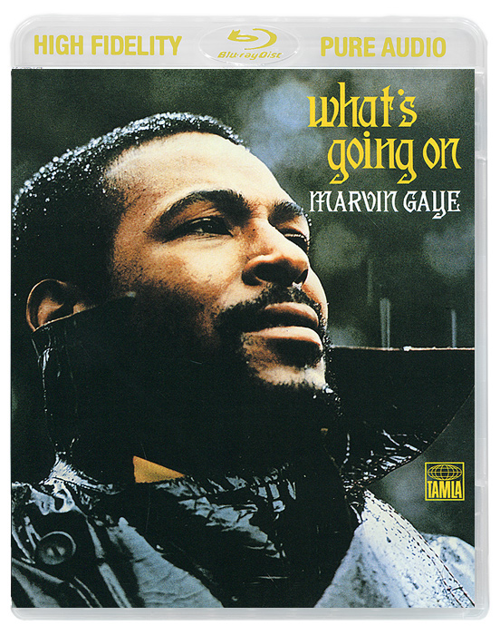 Марвин Гэй Marvin Gaye. What's Going On (Blu-Ray Audio) anthrax chile on hell blu ray