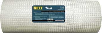 Лента стеклотканевая фасадная Fit, 50 х 10 м лента сигнальная fit цвет черно желтый 50 мм х 100 м