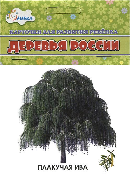 Деревья России (набор из 12 карточек) spin master spin master игровой набор chubby puppies туристическая палатка