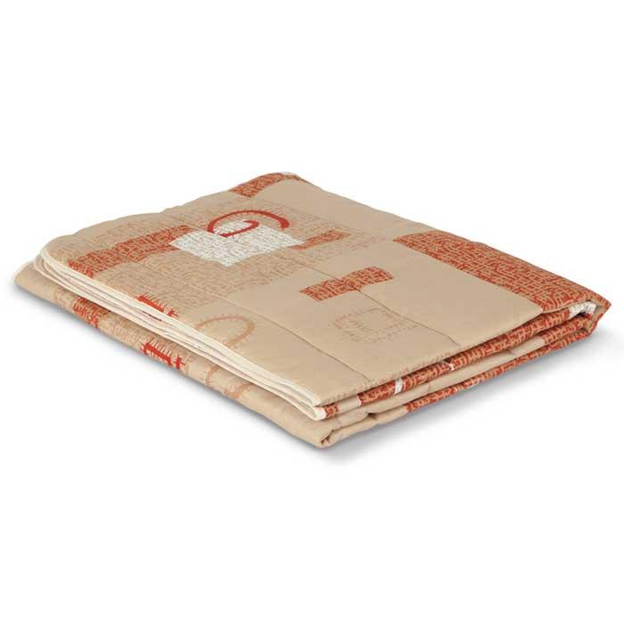 """Одеяло стеганое летнее Miotex """"Овечья шерсть"""", 172 см х 205 см"""