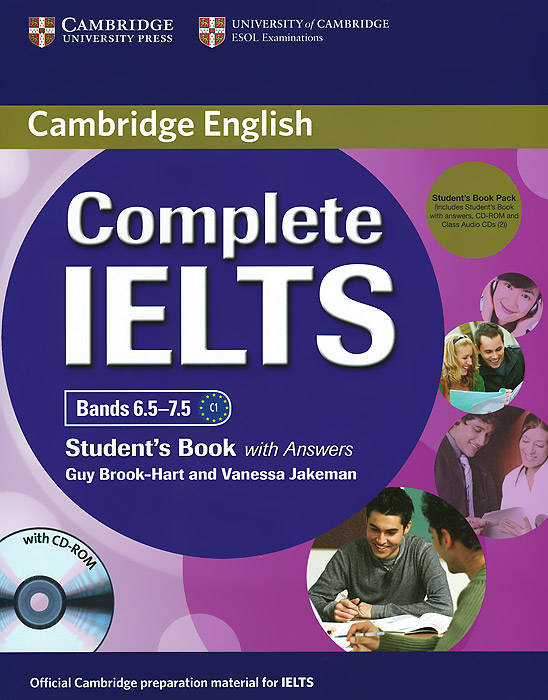 Complete IELTS: Bands 6.5-7.5: Student's Book with Answers (+ 2 CD, CD-ROM) french in one click book with cd