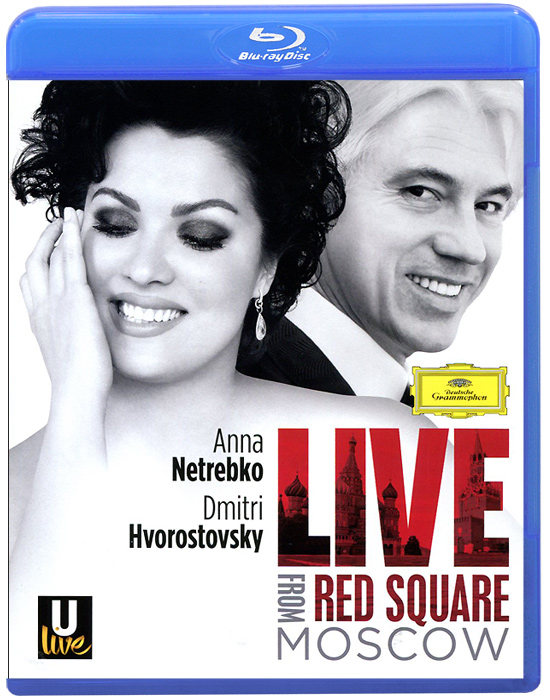 Anna Netrebko, Dmitri Hvorostovsky: Live From Red Square Moscow (Blu-ray) giuseppe verdi la forza del destino blu ray