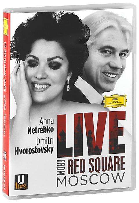 Anna Netrebko, Dmitri Hvorostovsky: Live From Red Square Moscow giuseppe verdi la forza del destino blu ray