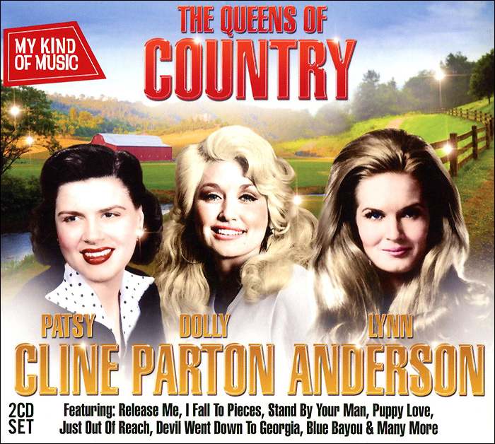My Kind Of Music. Queens Of Country (2 CD) my kind of music cool yule 2 cd