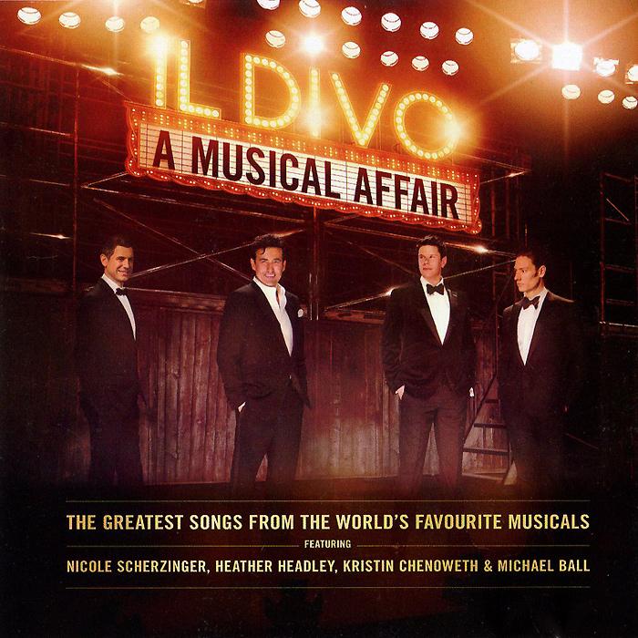 Il Divo Il Divo. A Musical Affair il divo il divo a musical affair live in japan cd dvd