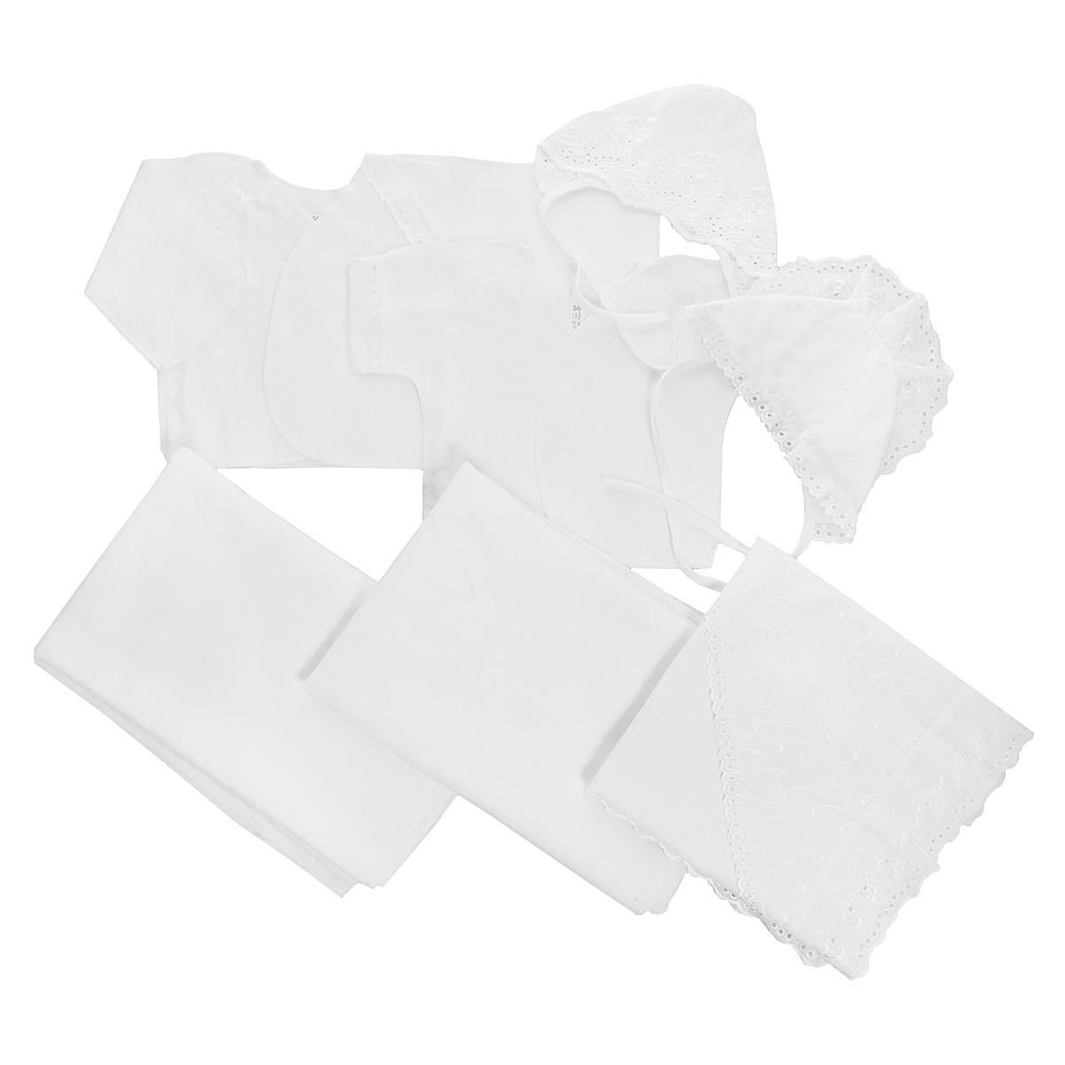 Комплект одежды Трон-плюс чепчик трон плюс цвет белый 2202 размер 62 3 месяца