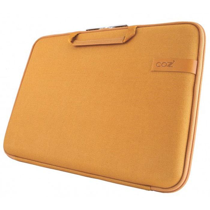 Cozistyle Smart Sleeve сумка с охлаждением для ноутбуков до 13, Yellow (хлопок, кожа) сумка для ноутбука 13 cozistyle aria smart sleeve кожа золотистый