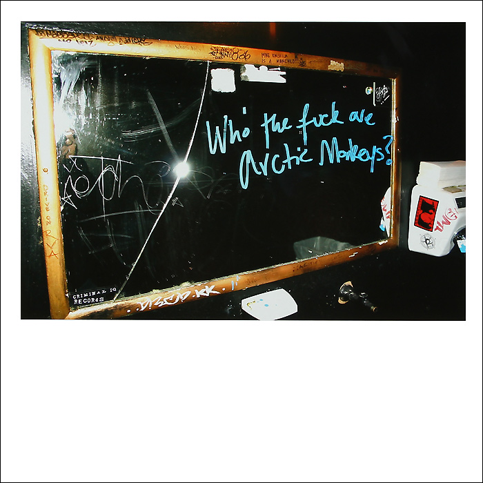 Arctic Monkeys Arctic Monkeys. Who The Fuck Are Arctic Monkeys? (LP)