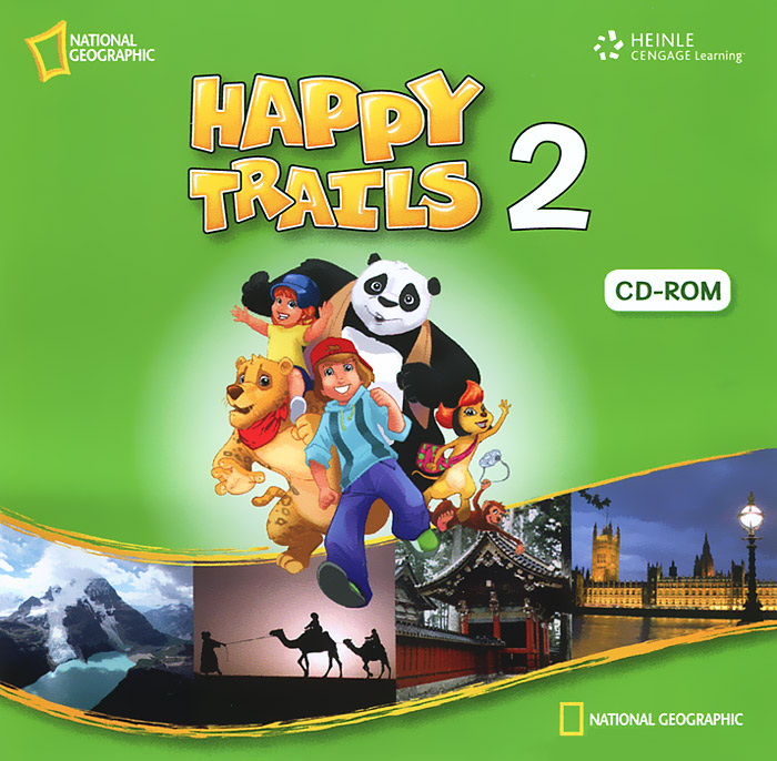 Happy Trails 2 (аудиокнига CD) national geographic kids world atlas