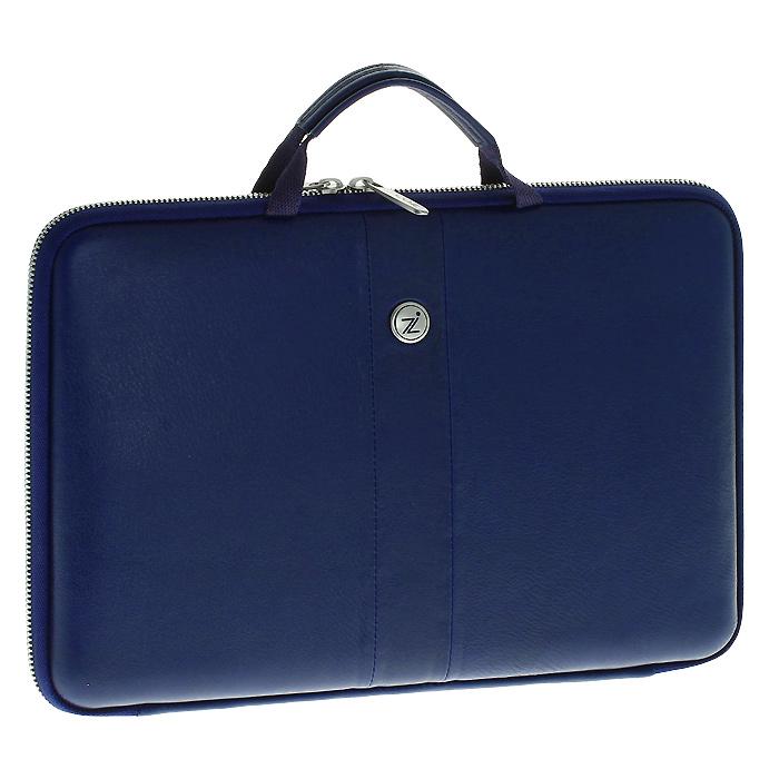 Cozistyle Smart Sleeve сумка с охлаждением для ноутбуков до 13, Blue (кожа) сумка для ноутбука 13 cozistyle aria smart sleeve кожа золотистый