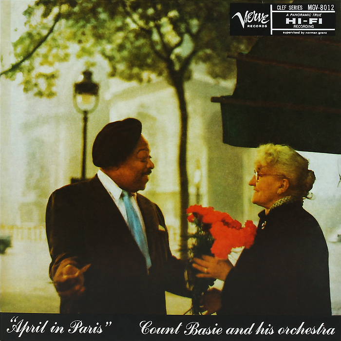 Каунт Бэйси Count Basie. April In Paris (LP) элла фитцжеральд каунт бэйси ella fitzgerald count basie a perfect match