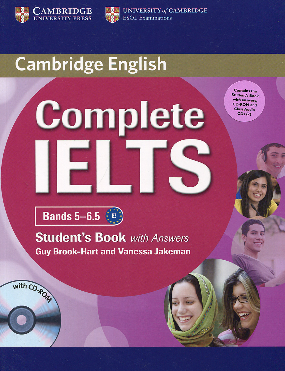 Complete IELTS: Bands 5-6.5: Student's Book With Answers (+ CD-ROM и 3 CD) complete ielts bands 6 5 7 5 student s book without answers cd rom