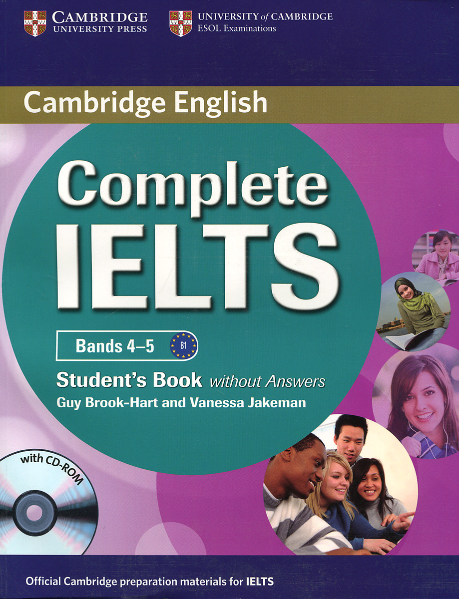 Complete IELTS: Bands 4-5: Student's Book without answers (+ CD-ROM) objective ielts advanced self study student s book cd rom