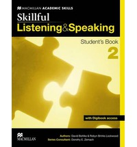 Skillful Listening and Speaking: Student's Book + Digibook: Intermediate / Level 2 сумка для ноутбука samsonite сумка для ноутбука 14 1 spectrolite 2 0 38 5x28x16 5 см