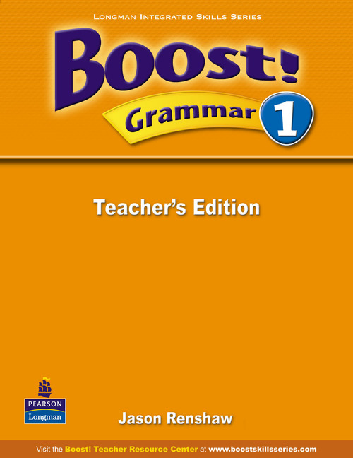 Boost! Level 1 Grammar Teacher's book