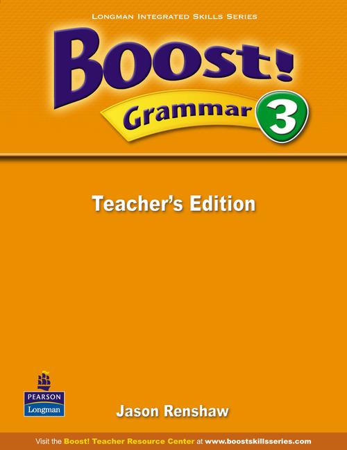 цена на Boost! Level 3 Grammar Teacher's book