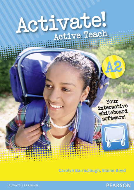 Activate! A2: Active Teach (CD-ROM) french in one click book with cd