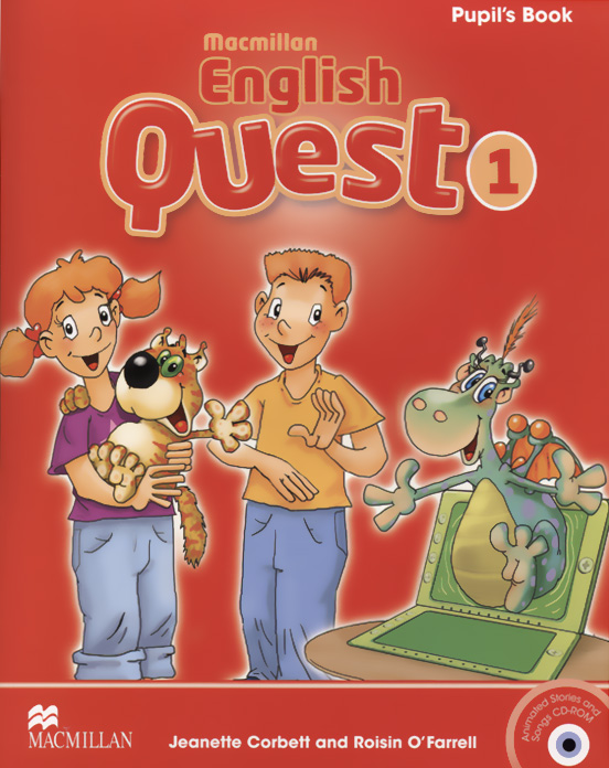 Macmillan English Quest: Student's Book: Level 1 (+ CD-ROM) macmillan english quest 2 flashcards