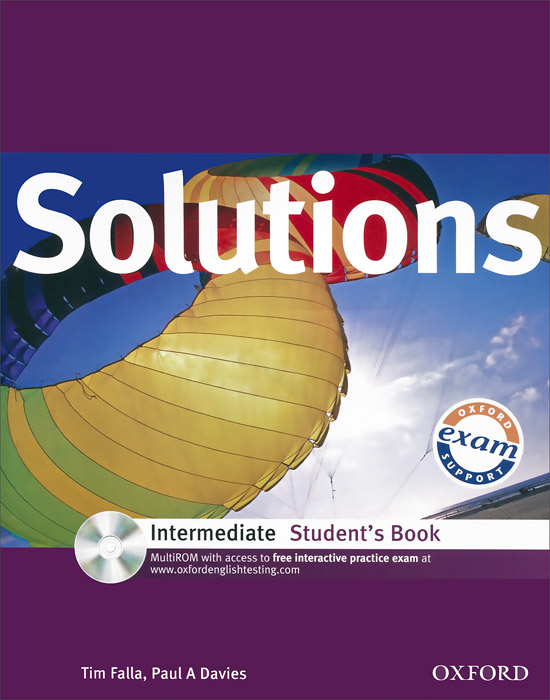 Solutions: Intermediate: Student's Book (+ CD-ROM) oxford exam excellence cd