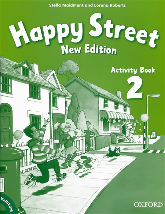 Happy Street 2: Activity Book (+ CD-ROM) oxford very first atlas activity book