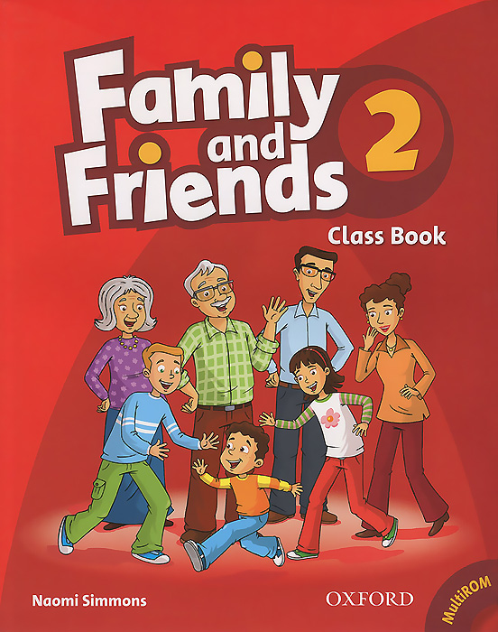 Family and Friends 2: Class Book (+ CD-ROM)
