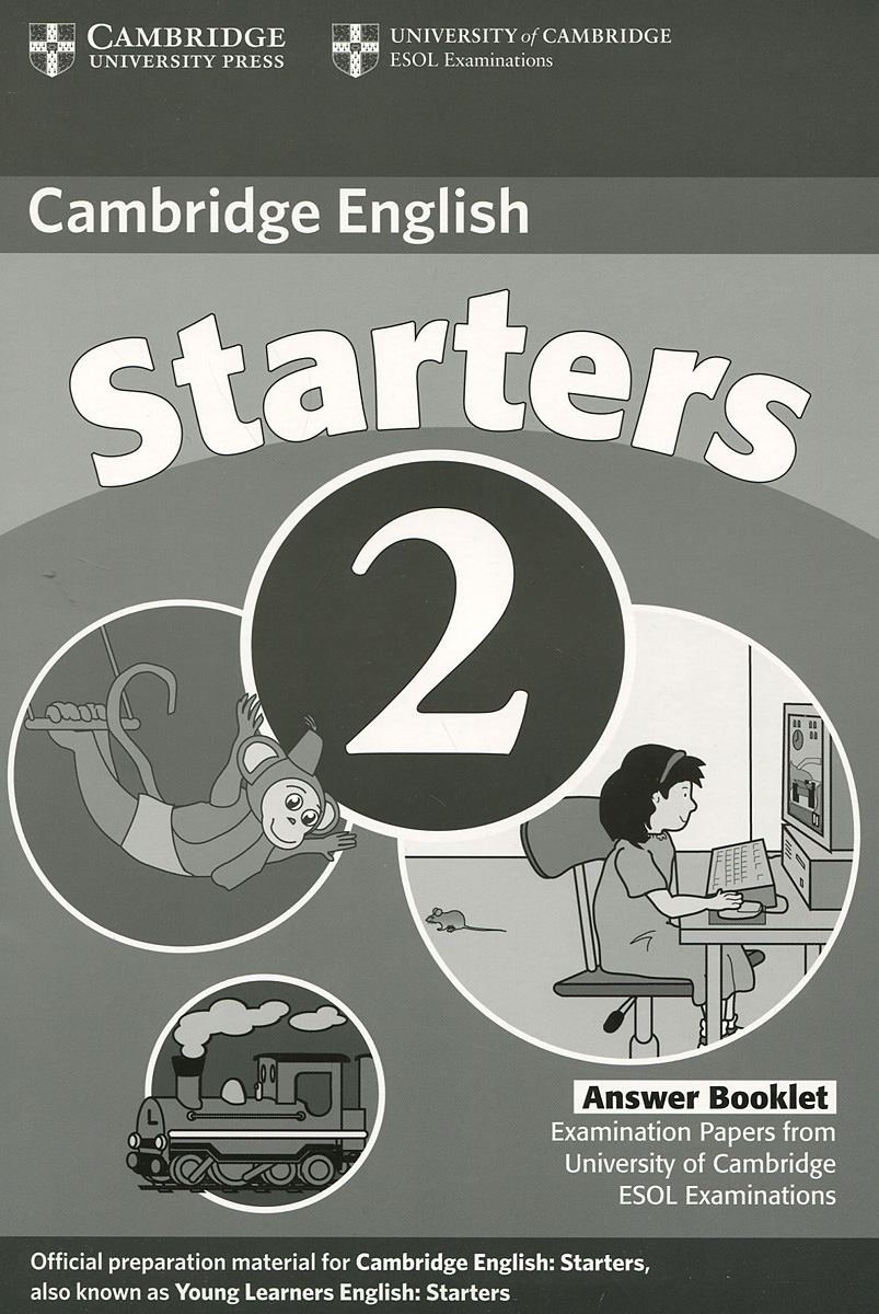 Cambridge Starters 2: Answer Booklet fun for starters аудиокурс на cd