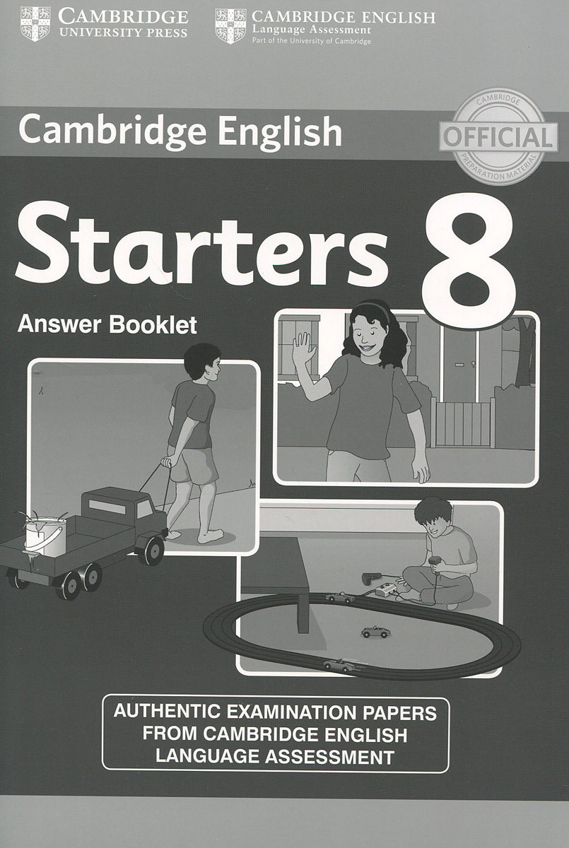 Cambridge Starters 8: Answer Booklet cambridge plays the pyjama party elt edition cambridge storybooks