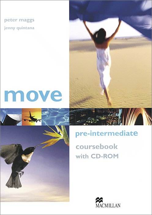 Move: Coursebook: Pre-Intermediate Level (+ CD-ROM) н н мирошникова english speaking coursebook for adults аудиокурс cd