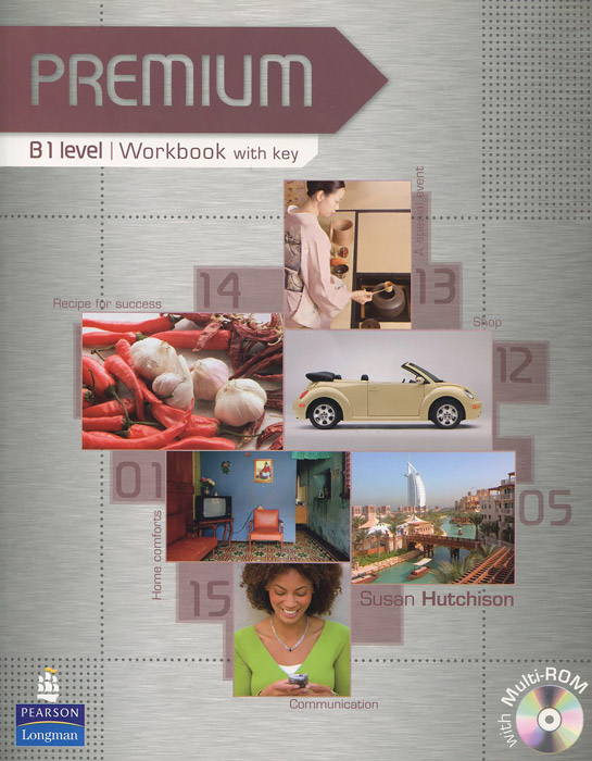 Premium B1: Workbook with Key (+ 2 CD-ROM) premium c1 workbook with key cd rom pack