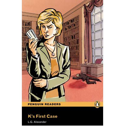 NEW Penguin Readers 3: K's First Case, Book/MP3 Pack penguin active reading level 3 pearl book