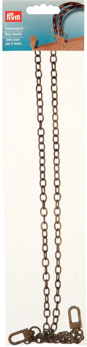 """Ручка для сумок """"Леандра"""" (цепочка), 88 см, цвет: латунь"""