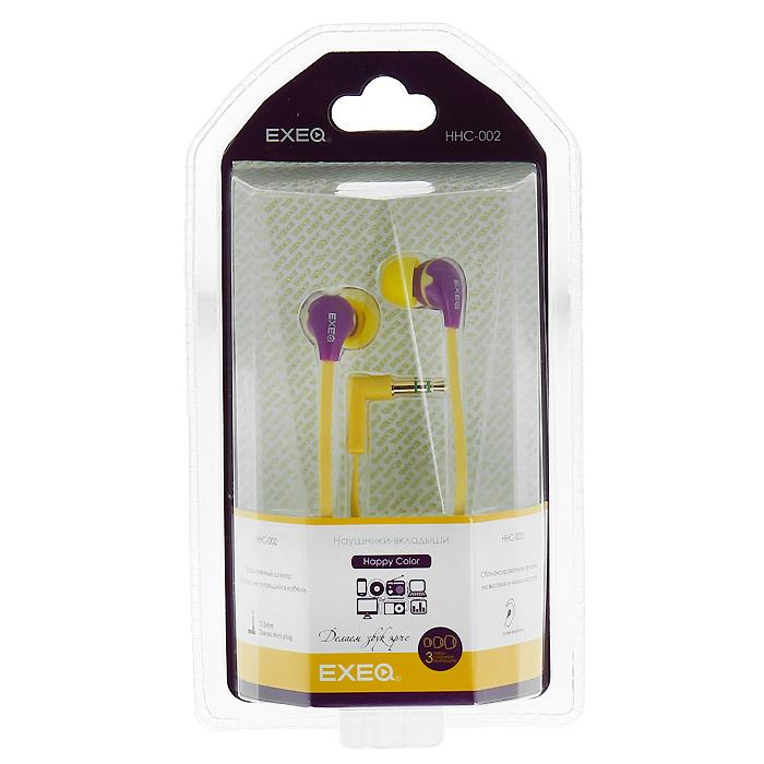 EXEQ HHC-002, Magenta Yellow наушники buka hhc 008