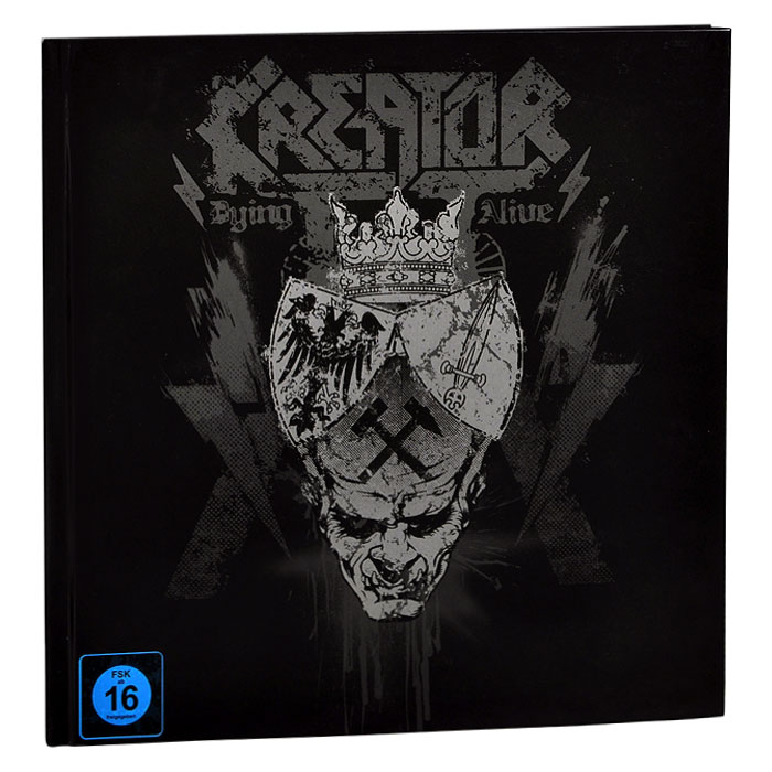 Kreator Kreator. Dying Alive. Special Edition (3 CD + DVD + Blu-ray) cd therion beloved antichrist