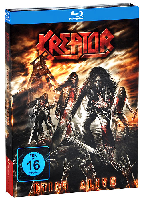 Kreator: Dying Alive (Blu-ray + 2 CD) cd therion beloved antichrist