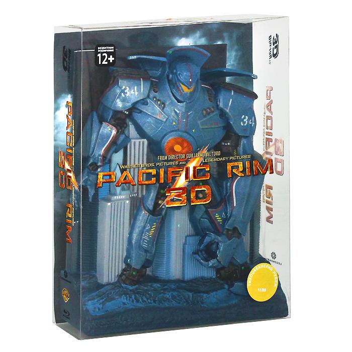 Тихоокеанский рубеж: Коллекционное издание 3D и 2D (3 Blu-ray) тихоокеанский рубеж 2 3d 2d 2 blu ray