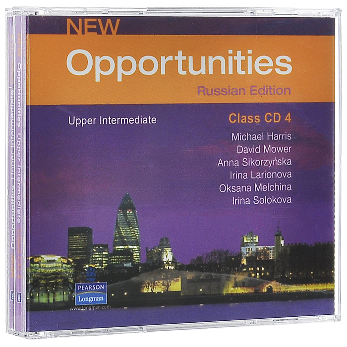 New Opportunities: Russian Edition: Upper Intermediate (аудиокурс на 4 CD) new opportunities russian edition beginner