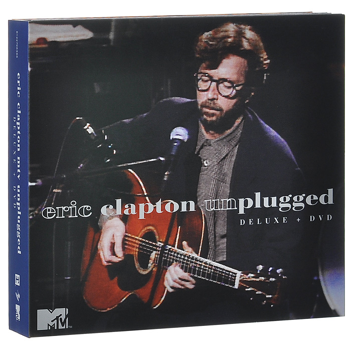 Эрик Клэптон Eric Clapton. MTV Unplugged. Deluxe Edition (2 CD + DVD) pull out down led light 3 color 97168d009 2 torneira vessel vanity basin sink chrome kitchen swivel 360 sprayer tap mixer faucet