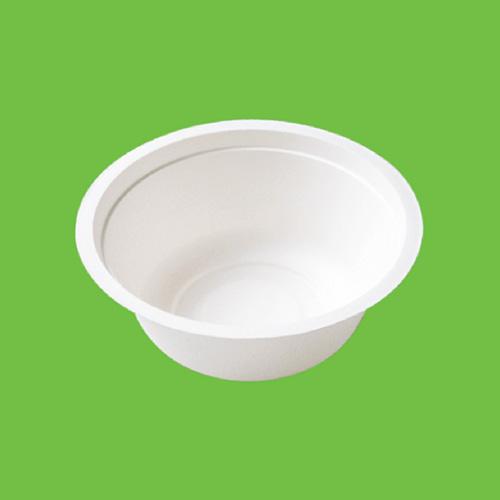 Набор суповых мисок Gracs, биоразлагаемых, цвет: белый, 500 мл, 10 шт набор пластиковых мисок для супа celesta festival цвет белый 500 мл 12 шт