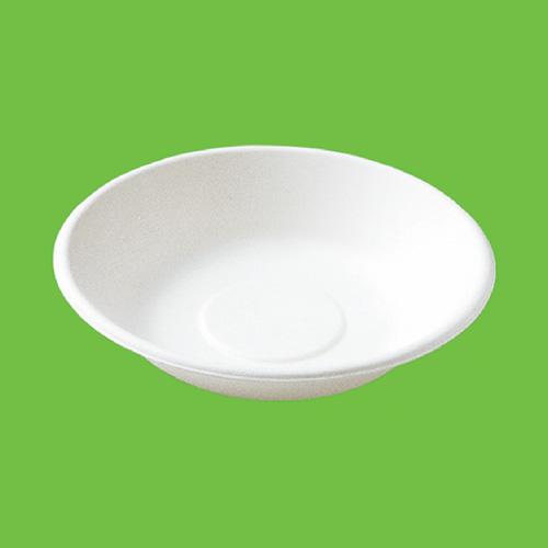 Набор суповых мисок Gracs, биоразлагаемых, цвет: белый, 460 мл, 10 шт набор пластиковых мисок для супа celesta festival цвет белый 500 мл 12 шт