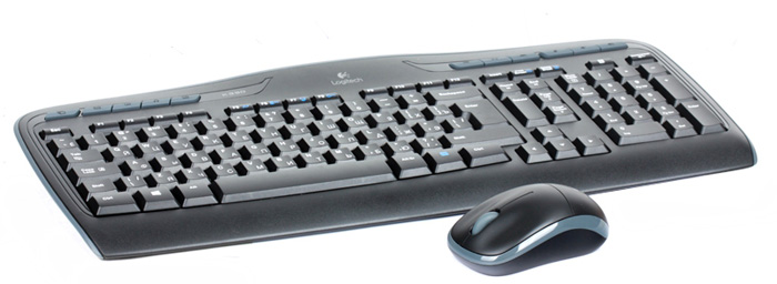 Комплект мышь + клавиатура Logitech Wireless Combo MK330, Black (920-003995) logitech wireless combo mk520 клавиатура мышь 920 002600
