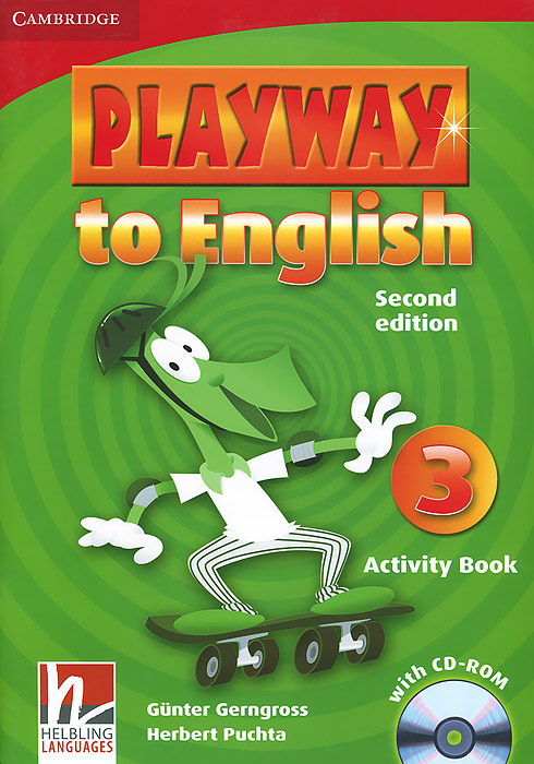 Playway to English 3: Activity Book (+ CD-ROM) playway to english 3 class musical video видеокурс на vhs